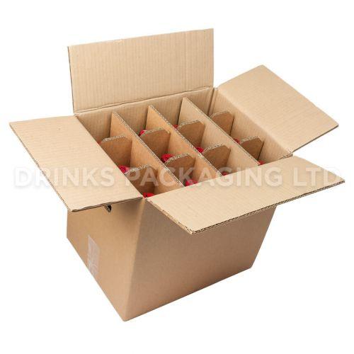12 Bottle - Standard Wine Shipper Box | Wine Box Shop