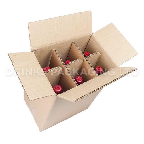 6 Bottle - Standard Wine Shipper Box   Wine Box Shop