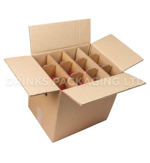 12 Bottle - Standard Wine Shipper Box   Wine Box Shop