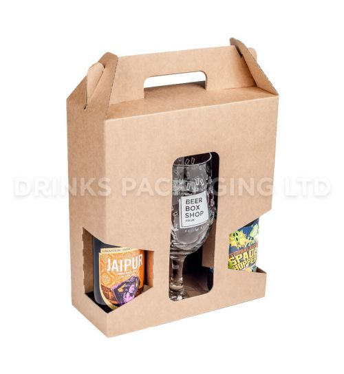 2 Bottle + Glass - Gift Box - 330ml | Beer Box Shop