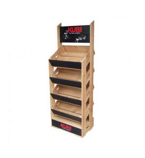 4 Angled Half Crate Shelf Unit | Beer Box Shop