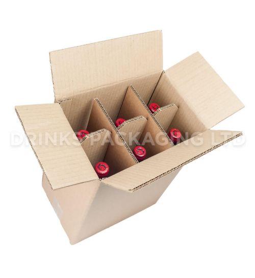 6 Bottle - Standard Wine Shipper Box | Wine Box Shop