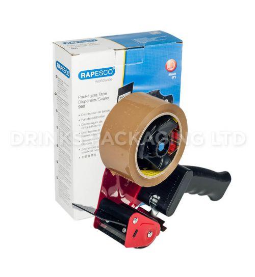 Rapesco 960 Packaging Tape Dispenser Gun | Beer Box Shop