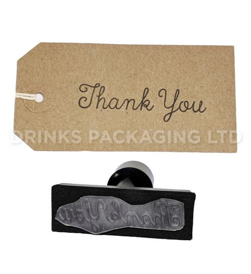 Thank You | Generic Message Stamp | Beer Box Shop