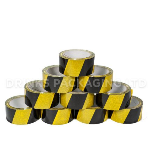 1 Roll - Hazard Warning Tape | Beer Box Shop